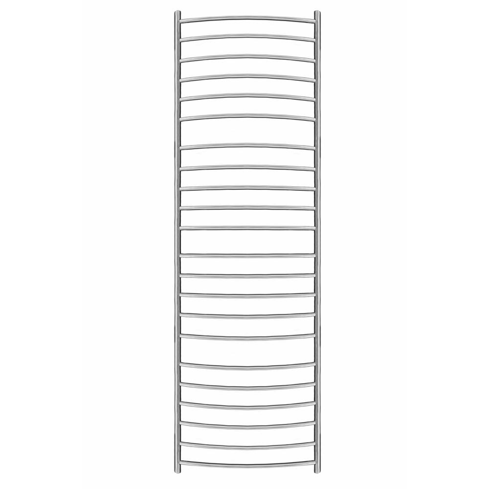 1550mm x 500mm Curved Heated Towel Rail