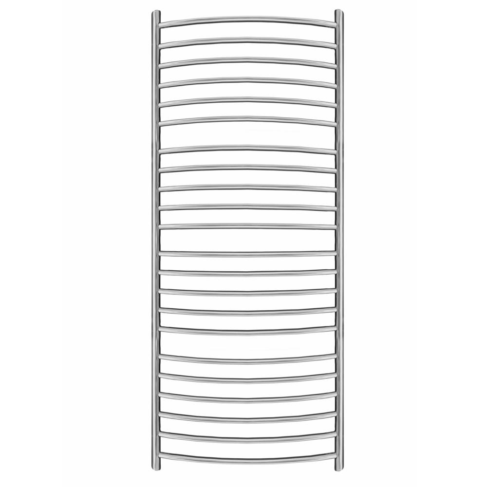 1550mm x 600mm Curved Heated Towel Rail