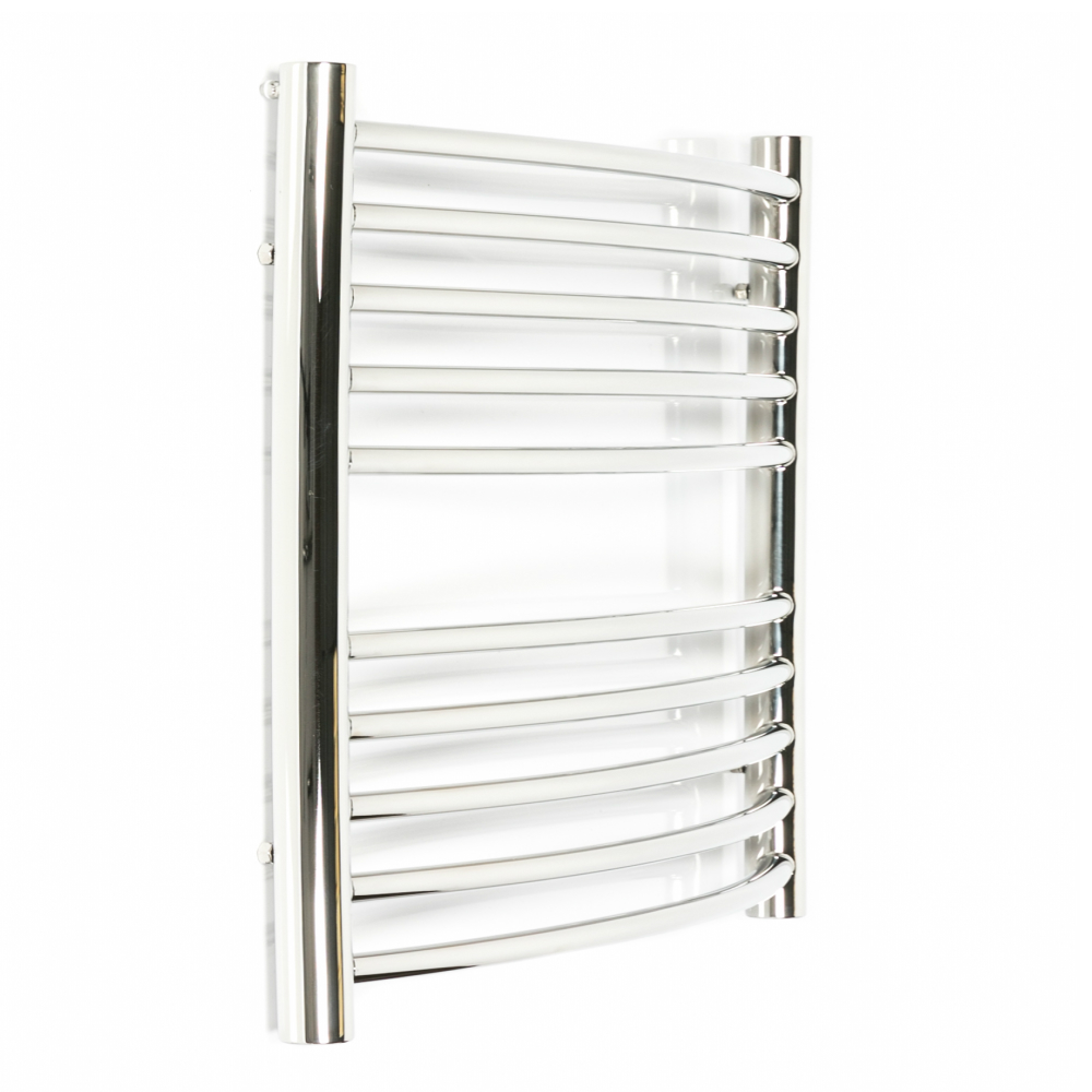 Stainless steel heated towel rail