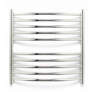 Stainless steel heated towel rail