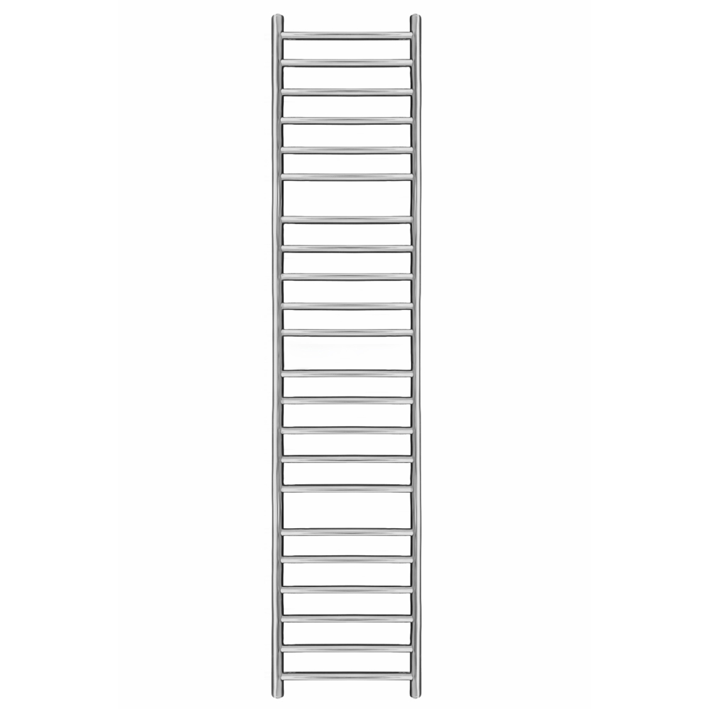 Mega Flat 1550mm x 400mm Heated Towel Rail