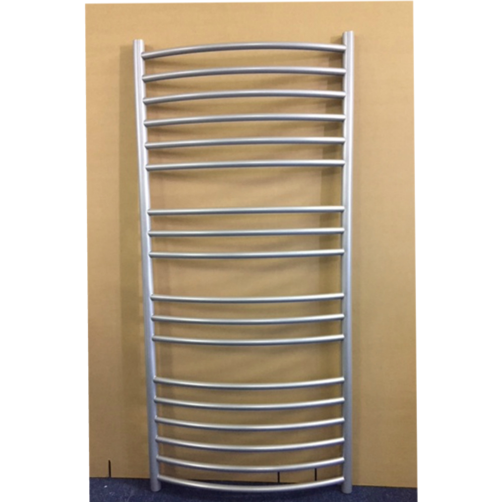 1300mm x 600mm Curved Heated Towel Rail